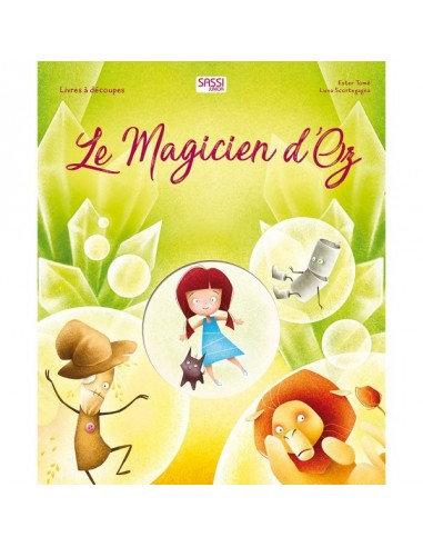 Livre décoré- Le magicien d'Oz