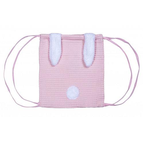 Mon premier sac à dos rose