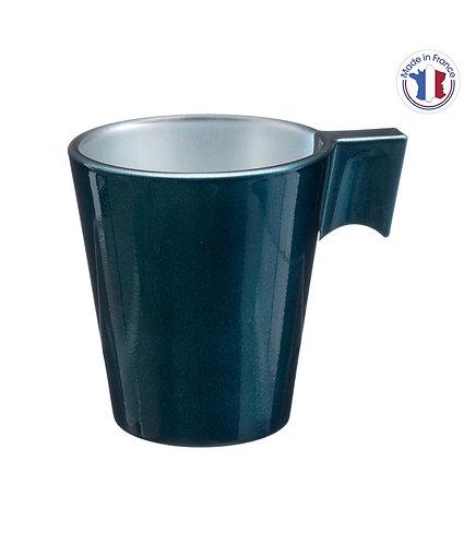 Tasse Irisée Bleu 8 cl - Couleur : Bleu