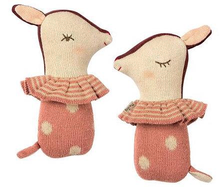 Hochet Bambi - Rose Maileg