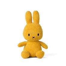 Miffy - Lapin velours cotelé moutarde