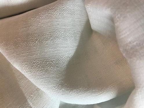 Foulard ajouré blanc