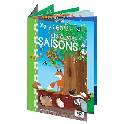 Livre pop up les quatre saisons