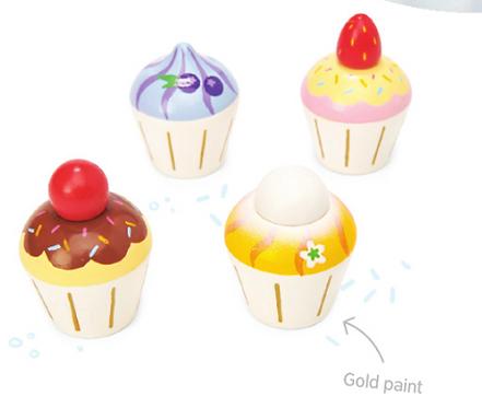 Cupcakes en bois