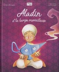 Livre décoré dentelle- Aladin