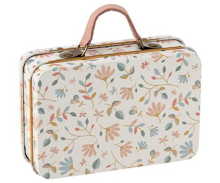 Maileg Suitcase, metal - Merle light
