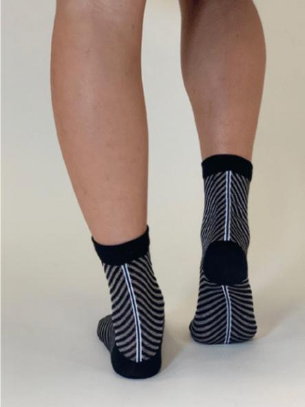 Chaussette femme - Be Trendy - Noir - T.37-41
