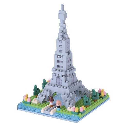 Rives de la Seine a Paris // Sights series NANOBLOCK