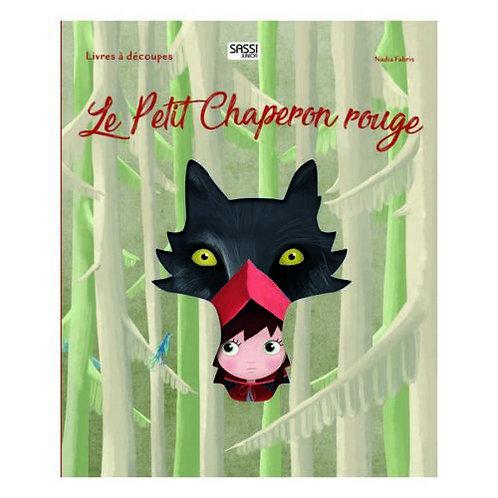 Livre décoré dentelle- le petit chaperon rouge
