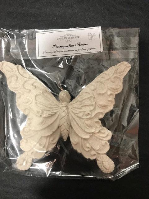 Déco  So Chic Papillon Intemporelle Parfum AMBRE