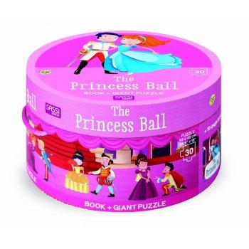 Le bal des princesses- Puzzle Géant et livre