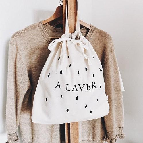 A laver noir