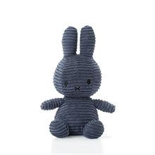Miffy - Lapin velours cotelé bleu nuit