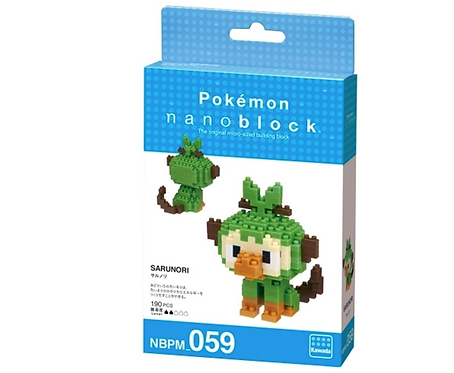 Pokemon Ouistempo Chimpep  // Mini series NANOBLOCK
