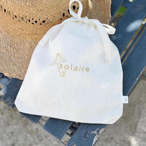 Solaire doré - XS lin ivoire