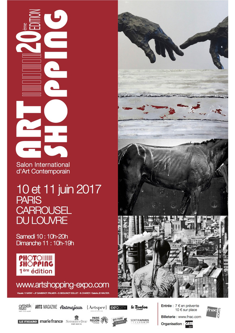 affiche Art Shopping Juin 2017