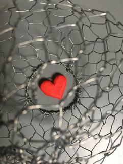 coeur en cage