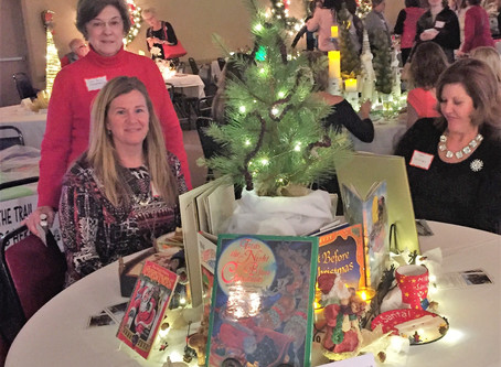 """A reminder about our foundation at the """"Tannenbaum Tea"""""""