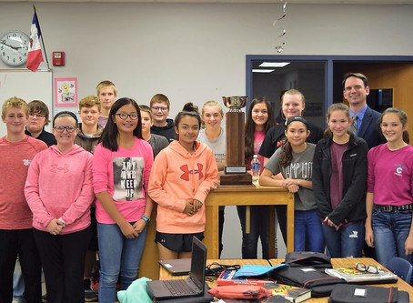 Iowa's education director visits Shenandoah schools