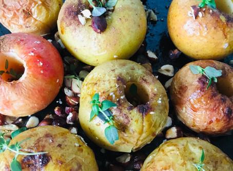 Autumn Baked Apples