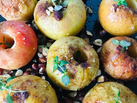 Autumn Baked Apples