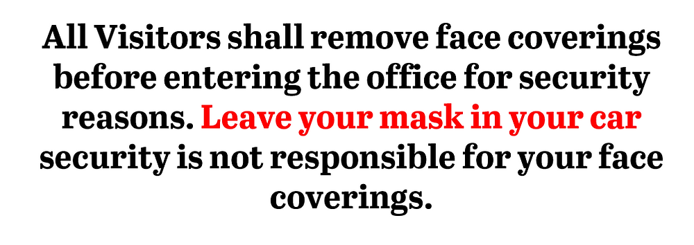 Can a business BAN the use of Facemasks