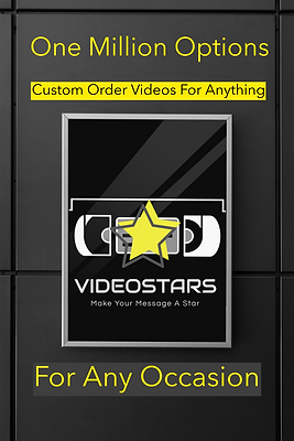 Videostars- Make your message a star! This is like a greeting card but, in a video.