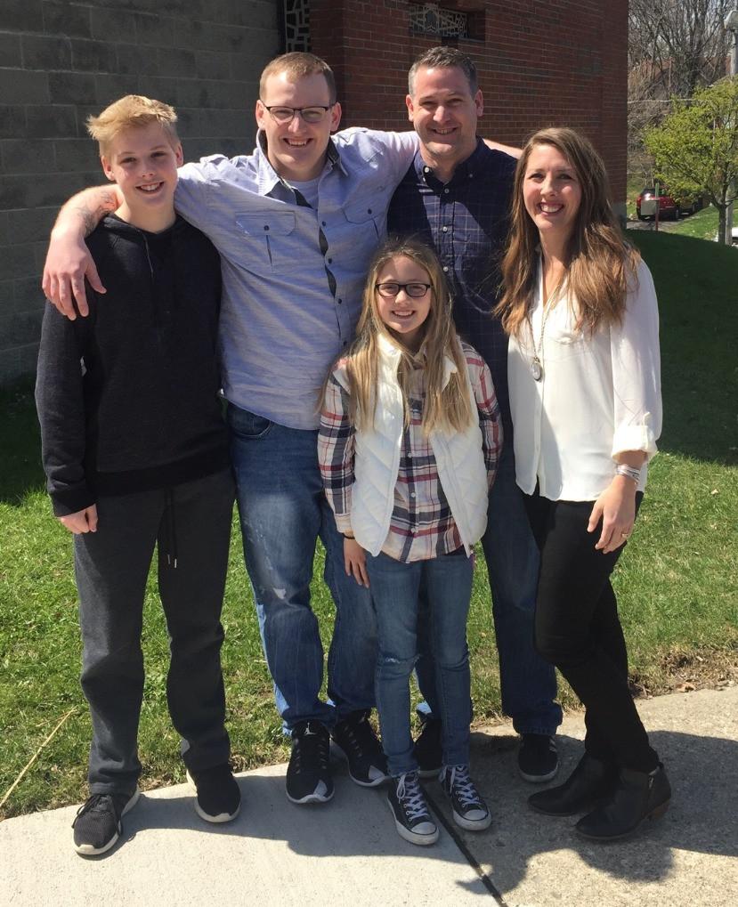 Agent Matt Fox and Family
