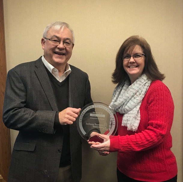 Tami Thayer Receives Circle of Excellence Award