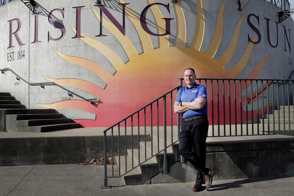 Welcoming Neil to Rising Sun