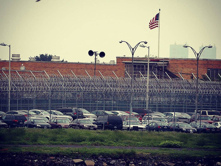Giving Service at Riker's Island Prison