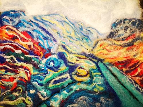 Llanberis Pass. Print 8 x 6 inches