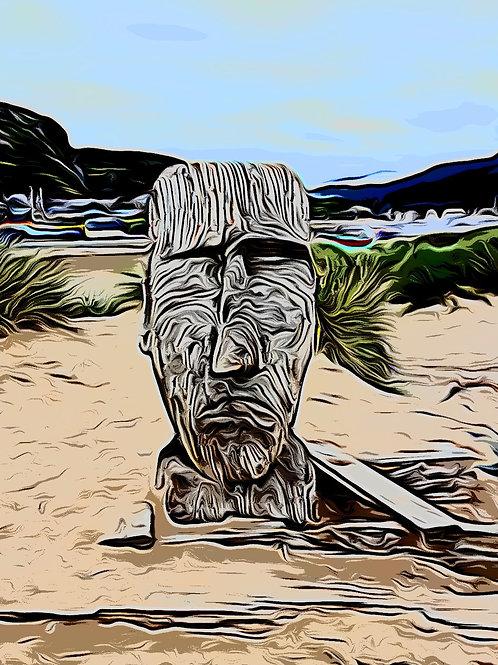 Barmouth Man Print 8 x 6 inches