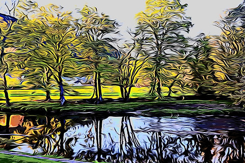Betws Trees Print 8 x 6 inches