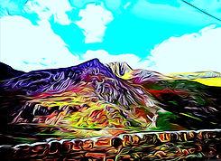 Foe Goch Nan Ffrancon Valley Ogwen Valley