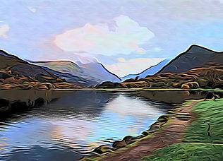 Llyn Padarn, Llanberis, Snowdon