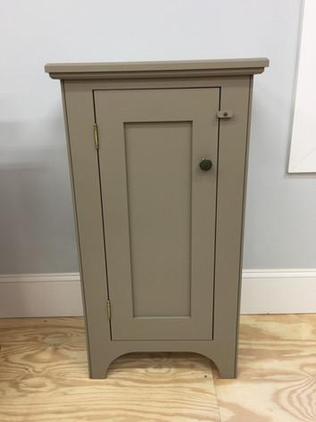 Shaker style storage cabinet