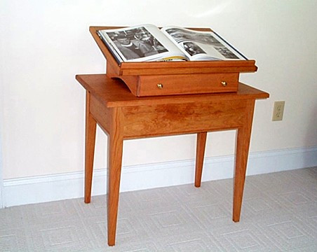 Dictionary Stand with Table