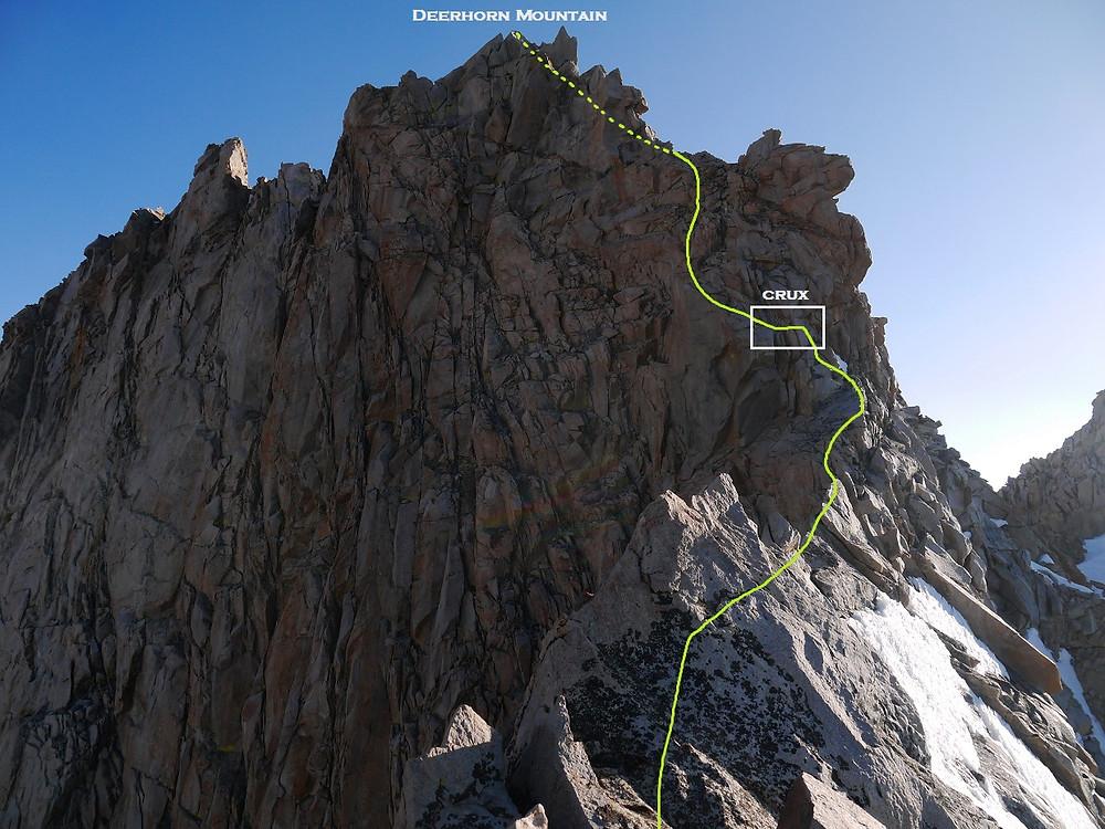 The Summit of Deerhorn Mountain