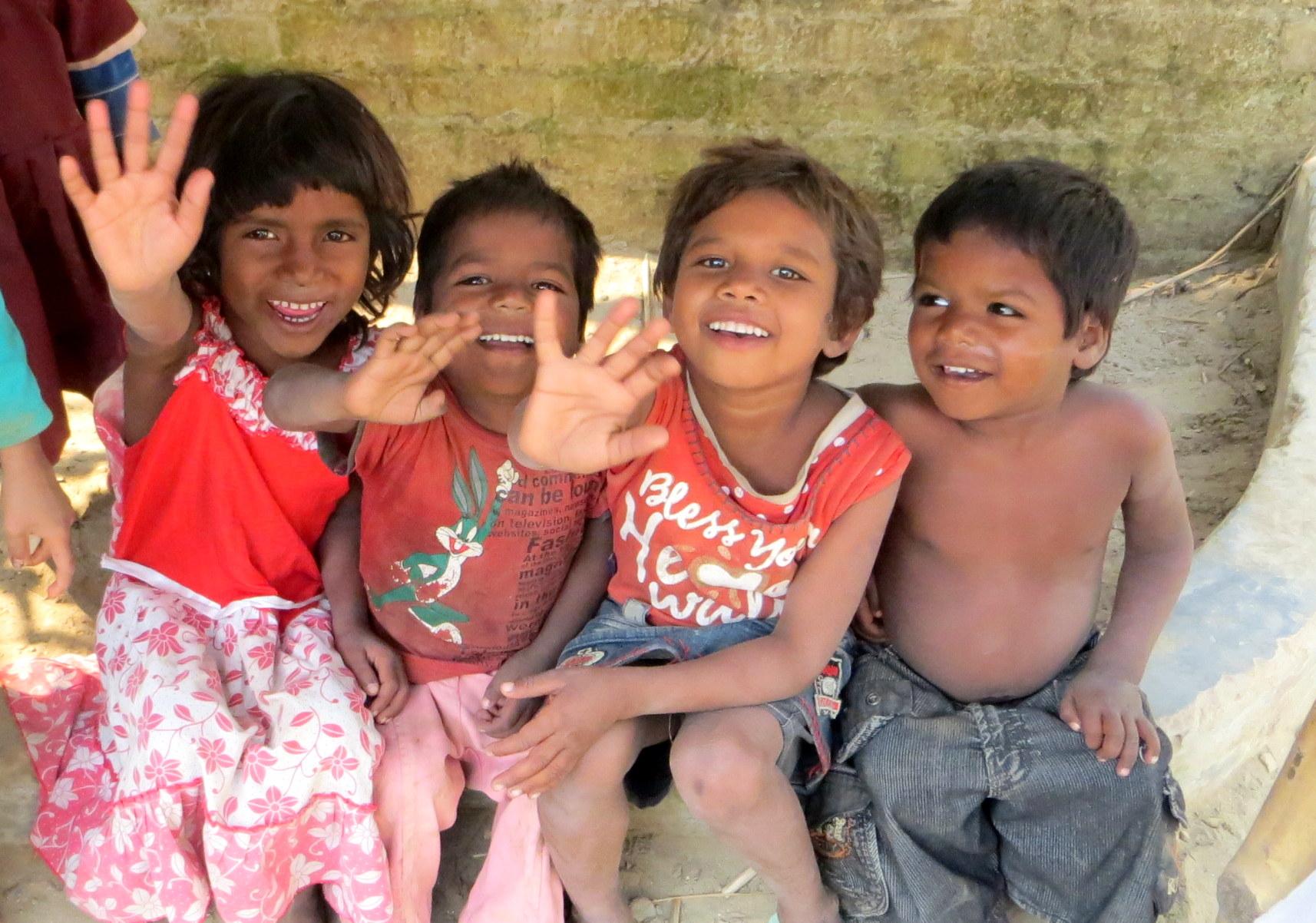 Kids at Jeevan