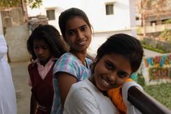 Girls at hostel