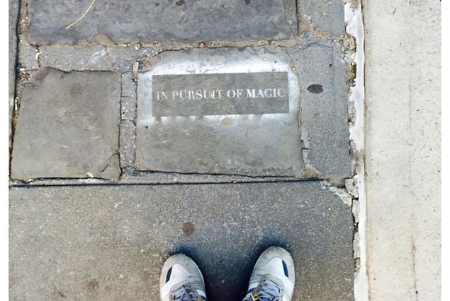 In Pursuit of Magic, Streetart in NYC