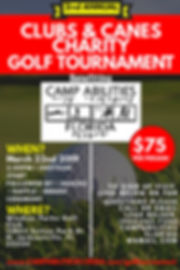 Copy of Charity Golf Tournament Poster -