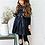 Thumbnail: Anastasia Dress in Navy Blue