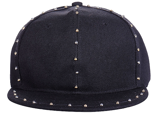 Gold & Silver Studded Cap