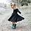 Thumbnail: Black Forest Twirl Dress