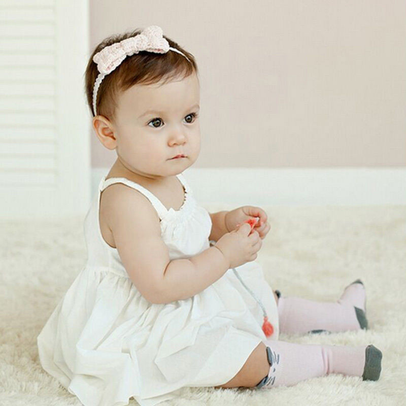Bébé Belle Little Cutie Pink Mouse Knee High Socks