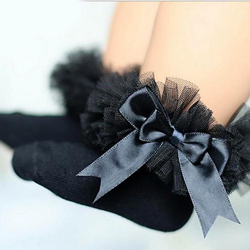 Black Tutu Socks