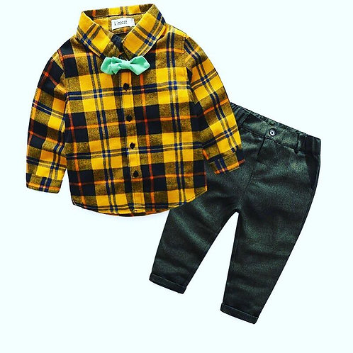 Jefferson Cutie Lumberjack Shirt & Trouser Set