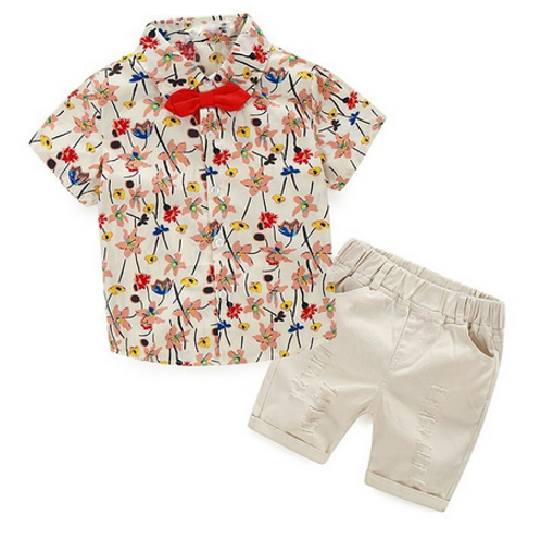 Liberty Meadow Shirt and Shorts Set